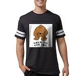 talk-tail-bear-2 Mens Football Shirt