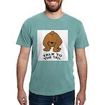 talk-tail-bear-2 Mens Comfort Colors Shirt