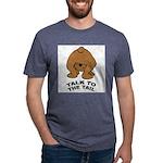talk-tail-bear-2 Mens Tri-blend T-Shirt