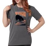 bear-CROP-text Womens Comfort Colors Shirt