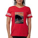 bear-CROP-text Womens Football Shirt
