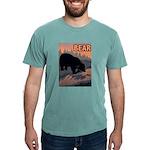 bear-CROP-text Mens Comfort Colors Shirt