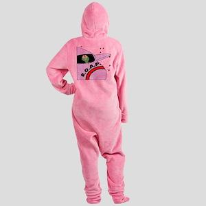 SOAP1 Footed Pajamas