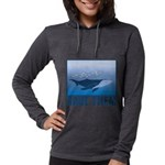 FIN-whale-save-them Womens Hooded Shirt