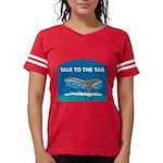 FIN-whale-talk-tail Womens Football Shirt