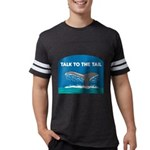 FIN-whale-talk-tail Mens Football Shirt