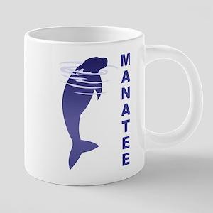 FIN-manatee 20 oz Ceramic Mega Mug