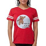 Dancing Teddy Bear Womens Football Shirt