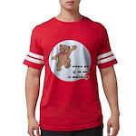 Dancing Teddy Bear Mens Football Shirt