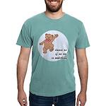 Dancing Teddy Bear Mens Comfort Colors Shirt
