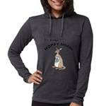 FIN-kangaroo-hoppy-hour Womens Hooded Shirt