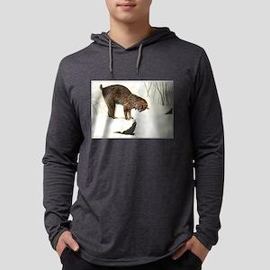 FIN-bobcat Mens Hooded Shirt