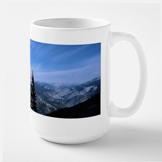 Half Dome Vista Large Mug