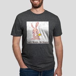 FIN-bunny-be-hoppy Mens Tri-blend T-Shirt