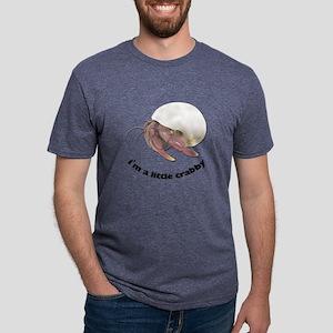 FIN-little-crabby Mens Tri-blend T-Shirt