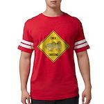 crossing-sign-chick Mens Football Shirt