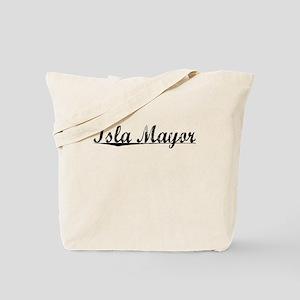 Isla Mayor, Aged, Tote Bag