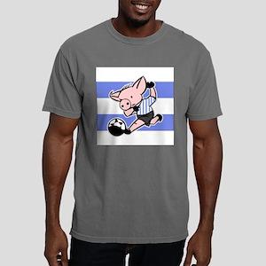 argentina-soccer-pig Mens Comfort Colors Shirt