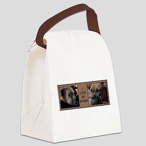 ILovemyBoxers-LouieRoxanne Canvas Lunch Bag