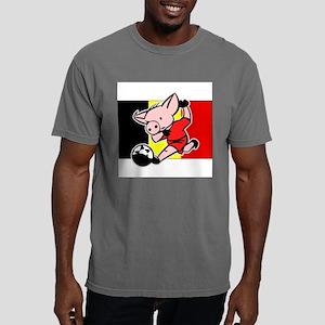 belgium-soccer-pig Mens Comfort Colors Shirt