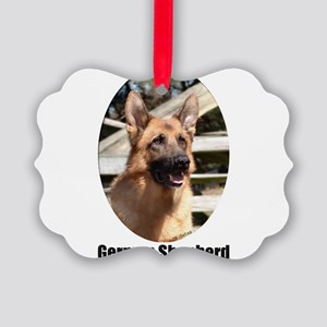 GatlynGermanShepardColor2 Picture Ornament