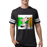 ireland-soccer-pig Mens Football Shirt