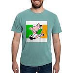 ireland-soccer-pig Mens Comfort Colors Shirt