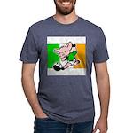ireland-soccer-pig Mens Tri-blend T-Shirt