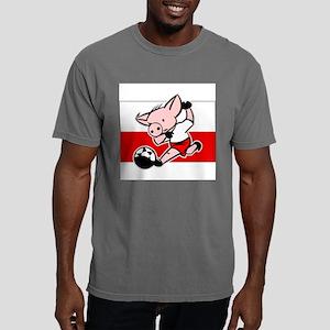 poland-soccer-pig Mens Comfort Colors Shirt