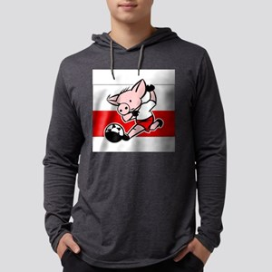 poland-soccer-pig Mens Hooded Shirt