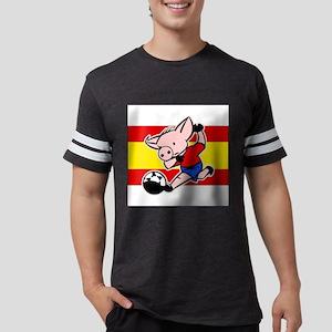 spain-soccer-pig Mens Football Shirt