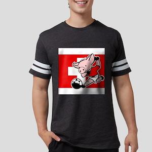 switzerland-soccer-pig Mens Football Shirt