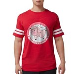 FIN-cute-flying-pig-TRANS Mens Football Shirt
