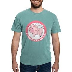 FIN-cute-flying-pig-TRANS Mens Comfort Colors