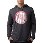 FIN-cute-flying-pig-TRANS Mens Hooded Shirt