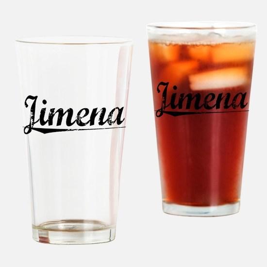 Jimena, Aged, Drinking Glass