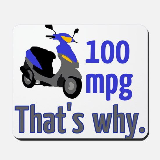 Why scooters? Mousepad