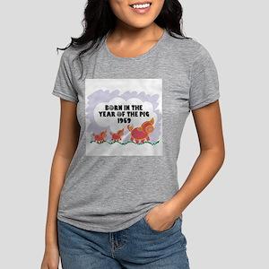 born-year-pig-1959 Womens Tri-blend T-Shirt