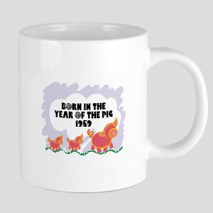 born-year-pig-1959 20 oz Ceramic Mega Mug