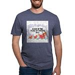 born-year-pig-1947 Mens Tri-blend T-Shirt
