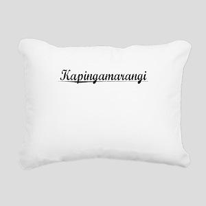 Kapingamarangi, Aged, Rectangular Canvas Pillow