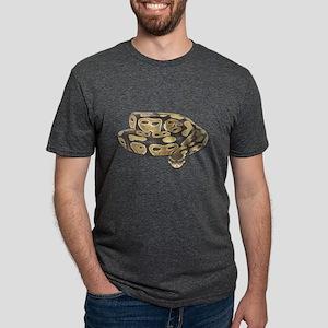 Ball Python Mens Tri-blend T-Shirt