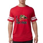 f-is-for-frog-10x10 Mens Football Shirt