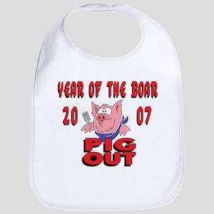 Year of The Boar Bib