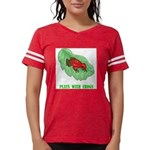 plays-with-frogs.ti... Womens Football Shirt