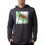 plays-with-frogs.ti... Mens Hooded Shirt