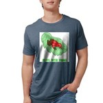 plays-with-frogs.ti... Mens Tri-blend T-Shirt