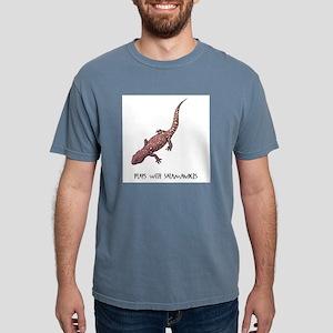 plays-with-salamand... Mens Comfort Colors Shirt