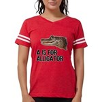 a-is-for-alligator Womens Football Shirt