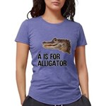 a-is-for-alligator Womens Tri-blend T-Shirt